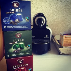 Fair Trade Kaffee im Kosmetikstudio in Wettingen